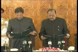 عمران خان به عنوان نخست وزیر پاکستان