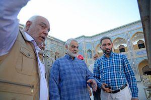 بازدید «سردار سلیمانی» از بزرگترین پروژه عمرانی مذهبی جهان اسلام