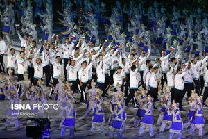 عکس/ مراسم افتتاحیه بازیهای آسیایی ۲۰۱۸