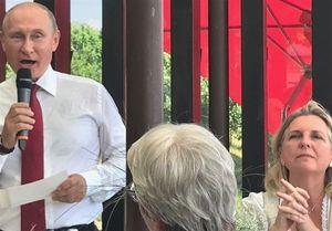 حضور جنجالی پوتین در مراسم عروسی وزیر خارجه اتریش