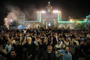 فیلم/ شب اول ایام مسلمیه در حرم سیدالکریم(ع)