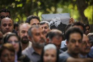 """عکس/ مراسم تشییع پیکر """"عزتالله انتظامی"""""""