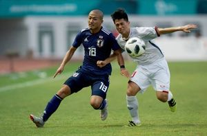فوتبال امید ژاپن و ویتنام