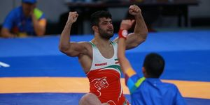 پیروزی قاطع علیرضا کریمی مقابل قهرمان المپیک