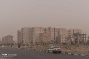 عکس/ گرد و غبار شهریار را فراگرفت