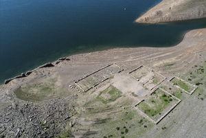 عکس/ کشف  یک روستا براثر خشکسالی