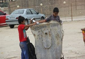 کودکان زباله گرد