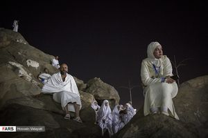 عکس/ زائران بیتاللهالحرام در سرزمین عرفات