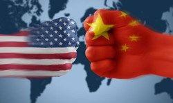 پرچم نمایه چین و امریکا
