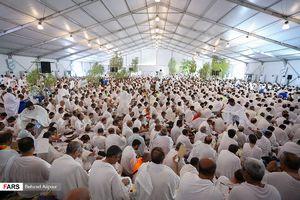 عکس/ دعای پرفیض عرفه در صحرای عرفات