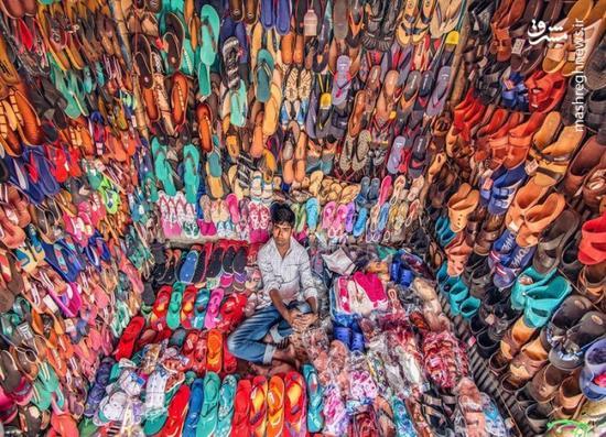 عکس/ مغازهای که سوژه نشنال جئوگرافیک شد