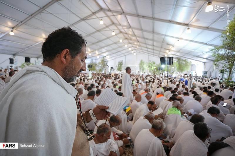 دعای پرفیض عرفه در صحرای عرفات