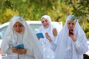 عکس/ مراسم دعای عرفه در صحرای عرفات