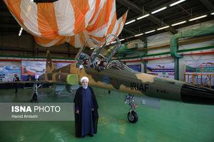 رونمایی از نخستین جنگنده ایرانی با حضور رئیسجمهور