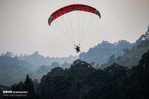 عکس/ مسابقات پاراگلایدر بازیهای آسیایی