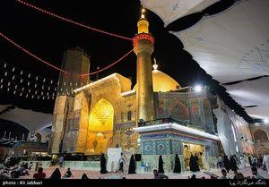 عکس/ حرم امام علی(ع) در آستانه روز عرفه