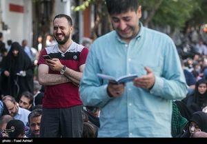 عکس/ دعای عرفه در خیابان سعدی تهران