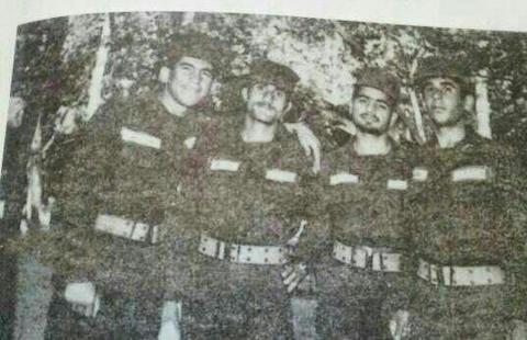 عکس/ روحانی در لباس سربازی!