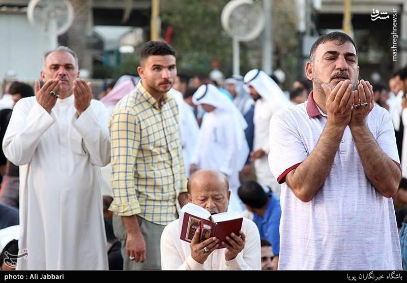 مراسم دعای عرفه در کربلای معلی