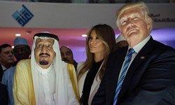 ملک سلمان و ترامپ