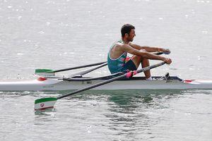روئینگ دو نفره مردان به فینال A صعود کرد