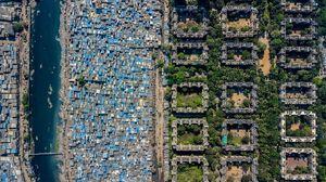 عکس/ مرز فقر و ثروت در یک نگاه