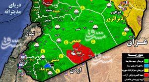 آخرین نفسهای تروریستها در جنوب سوریه