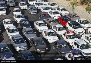 عکس/ ترافیک جاده چالوس