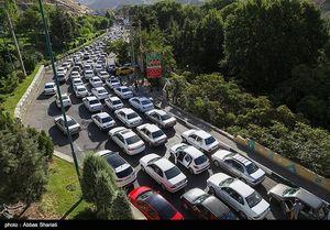 ترافیک جاده چالوس