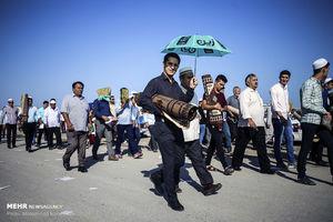 عکس/ مراسم نماز عید قربان در بندر ترکمن