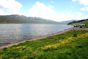 بزرگترین دریاچه طبیعی اردبیل