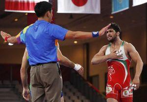 فیلم/ پیروزی حسین نوری در فینال 87 کیلوگرم کشتی فرنگی