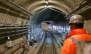 ساخت طولانیترین تونل دنیا +عکس