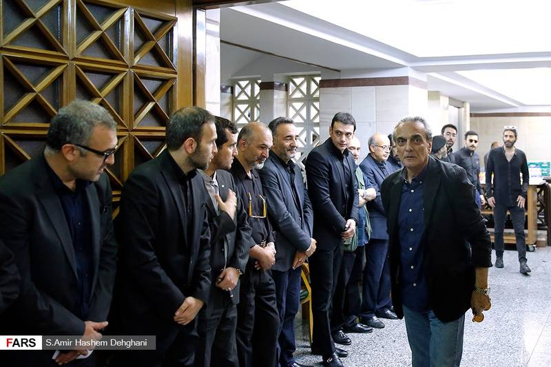 مراسم یادبود سید ضیاءالدین دری