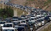 ترافیک سنگین در ورودی شهر تهران