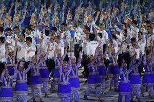 رژه بازیهای آسیایی
