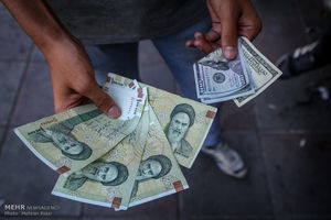 تاثیر سخنان روحانی و همتی در گرانی دوباره نرخ ارز+ نمودار