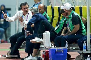 عکس/ اتاق فکر تحقیر فوتبال ایران در جاکارتا