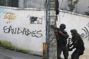 عکس/ مبارزه با باندهای مواد مخدر در برزیل