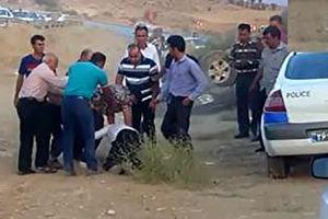 فیلم/شناسایی ضارب مامور پلیس راهور در شیراز