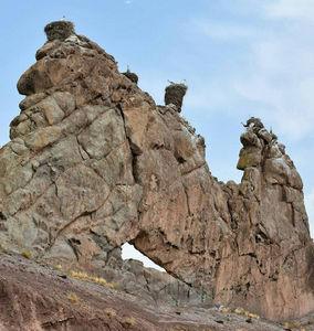 عکس/ قلعه لک لکها در زنجان