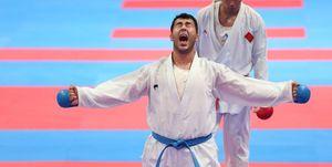 پایان خوب برای گنج کاراته ایران/ بهترین سنگین وزن دنیا طلایی شد
