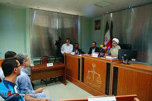 عکس/ دادگاه علنی رسیدگی به اتهامات رحیم مشایی