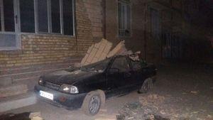 اولین تصاویر از خسارات زلزله امروز کرمانشاه