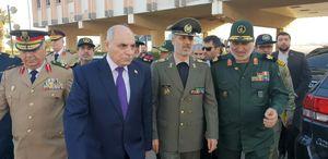 وزیر دفاع وارد دمشق شد