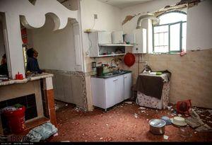 عکس/ خسارات ناشی از زلزله امروز کرمانشاه