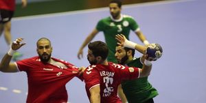 هندبال ایران در جایگاه پنجم ایستاد