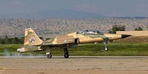 جزییات سقوط جنگنده F-۵