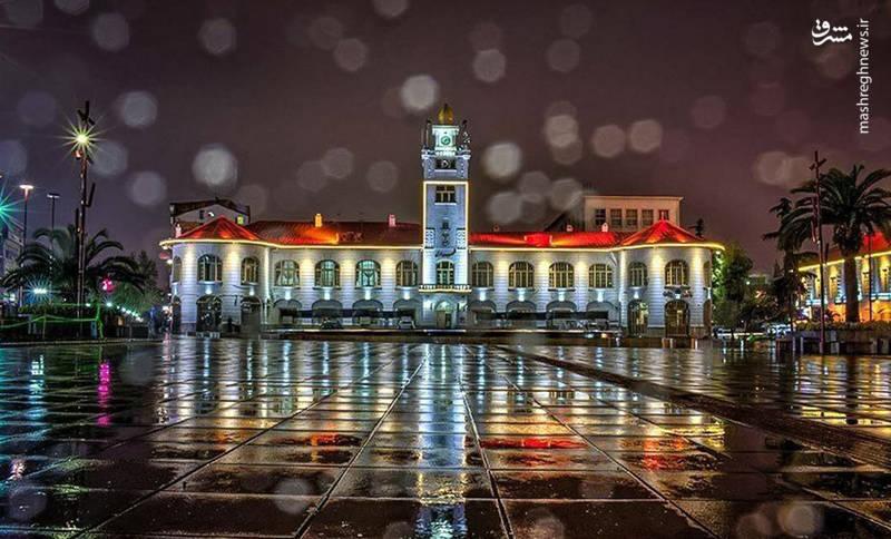 کاخ شهرداری رشت