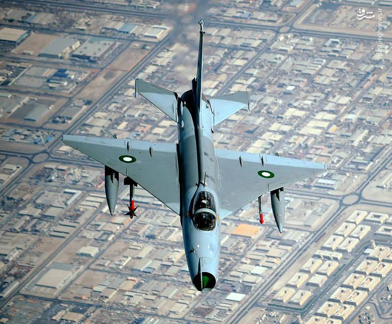 جنگنده اف ۷ نیروی هوایی پاکستان